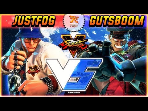 SFV/SF5 ✪ JUSTFOG (# RYU) VS GUTSBOOM (#6 M. BISON) | RANKED MATCH - STREET FIGHTER V