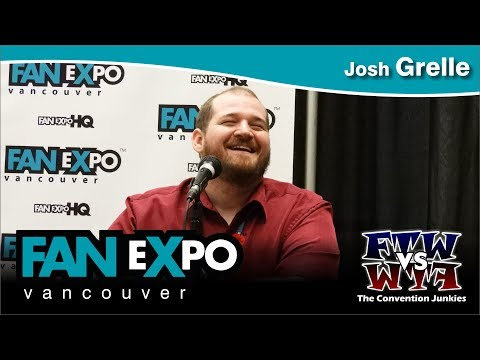 Josh Grelle (Voice Actor) - Fan Expo Vancouver 2017 Full Panel