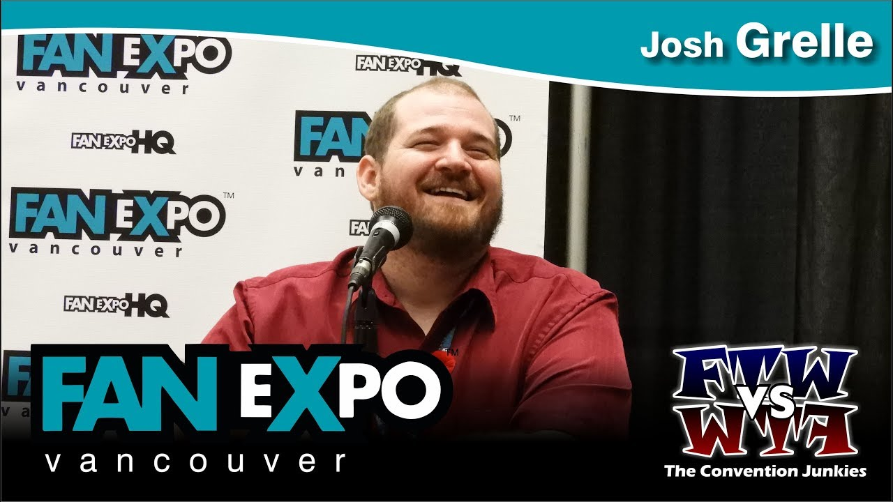 josh grelle voice actor fan expo vancouver full panel youtube