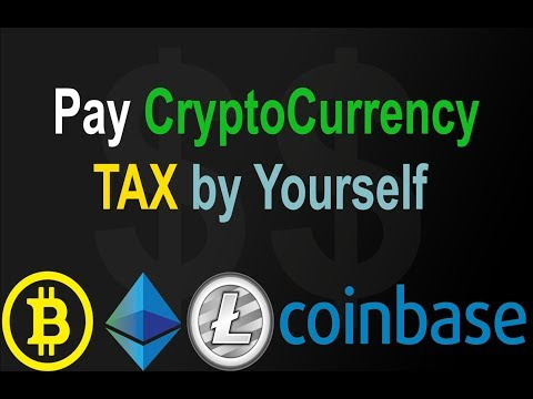 How to pay TAX for Cryptocurrency, COINBASE, Bitcoin tax