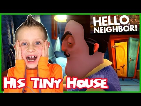 Hello Neighbor / Your House is so Tiny!