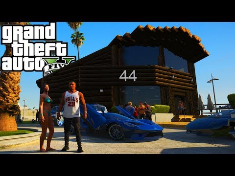 Pub 44 Beach Bar! GTA 5 Real Hood Life 2 #172
