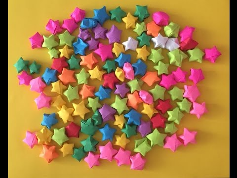 How to make Origami Little Paper Stars I ARTist Diana