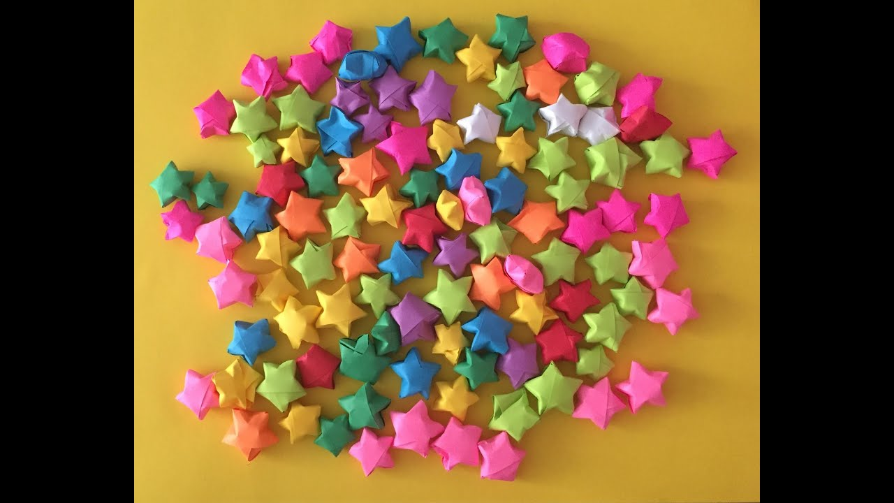 Origami Star Making For Christmas/ how to make paper stars easy ...   720x1280