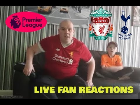 Liverpool vs tottenham live fan reactions (4th february 2018)
