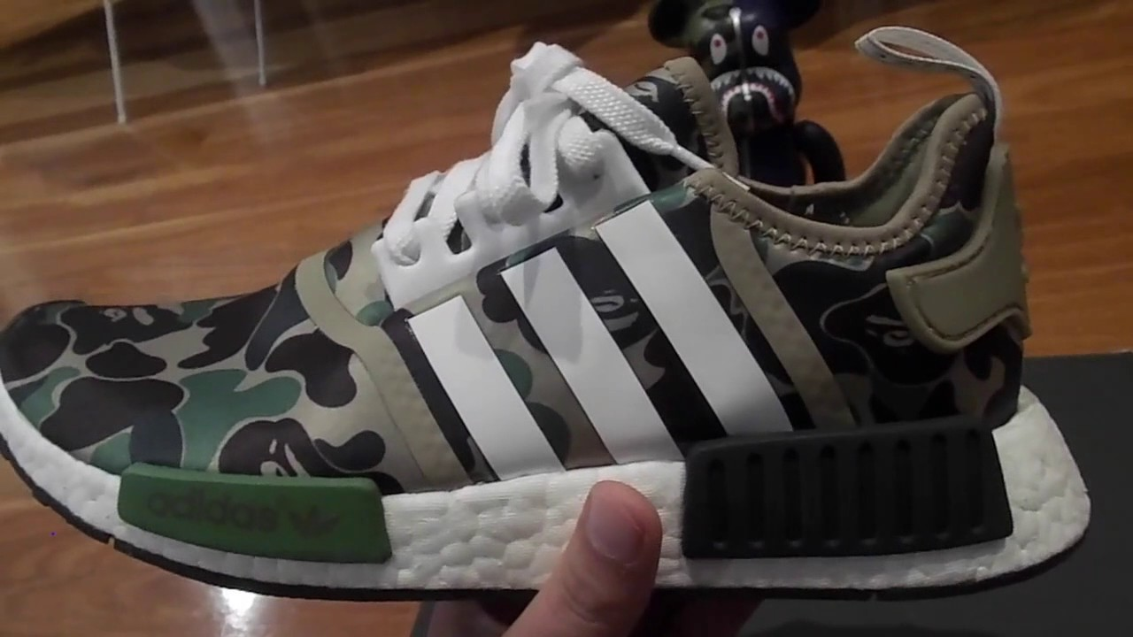 8fcdea80a81c6 BAPE NMD REVIEW!!!!! - YouTube