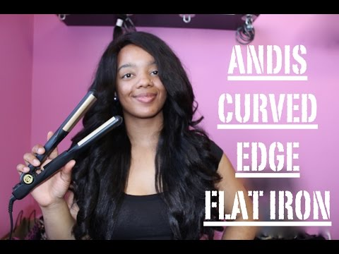 ❁ Review  Andis Curved Edge Flat Iron