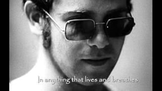 BELIEVE ~ Elton John (lyrics)