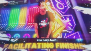 the *NEW* MOST OVERPOWERED BUILD in NBA 2K20 | BEST FACILITATING FINISHER BUILD | 58+ BADGE UPGRADES