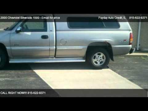 2000 Chevrolet Silverado 1500 Base   For Sale In Sterling, IL 61081