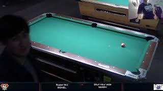 Live @ Crazy 8 Billiards.  First Pool/Billiard/8 ball Live Stream - Team Super MJ