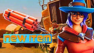 TNT coming to Fortnite Battle Royale? Leaked New LTM Wild Wild West Theme