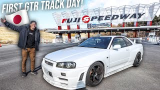 TAKING MY R34 GTR FOR HOT LAPS ON FUJI SPEEDWAY IN JAPAN!