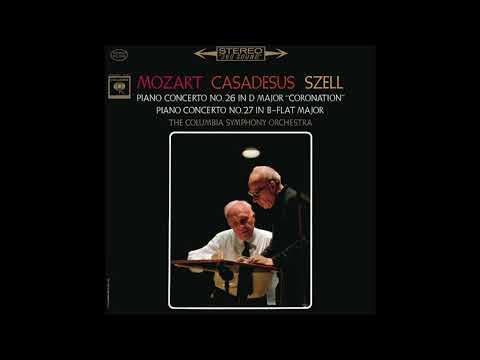 Mozart Piano Concerto No. 27 / Robert Casadesus, Columbia Symphony Orchestra, Szell (1963)