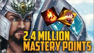 SILVER 5 TRYNDAMERE 2,400,000 MASTERY POINTS- Spectate 2nd Highest Mastery Points on Tryndamere