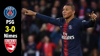 Paris Saint Germain vs Nimes I All Goals & Highlights 2019