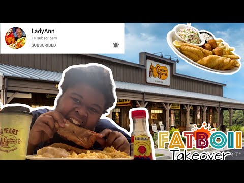 Lady Ann Collab   10 Facts About Us   Cracker Barrel Fried Fish   Fatboii Takeover