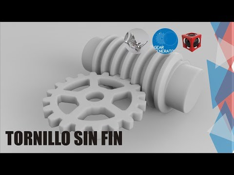 Tutorial Rhino 3D | Modelado Mecánico | Tornillo Sin Fin
