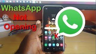 WhatsApp not Opening Fix-5 Solutions