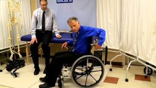 How to Adjust the Height of a Wheelchair.  How High Should it Be?