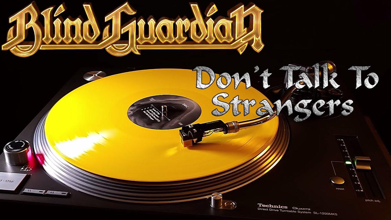 Blind Guardian - Don't Talk To Strangers - Yellow Vinyl LP
