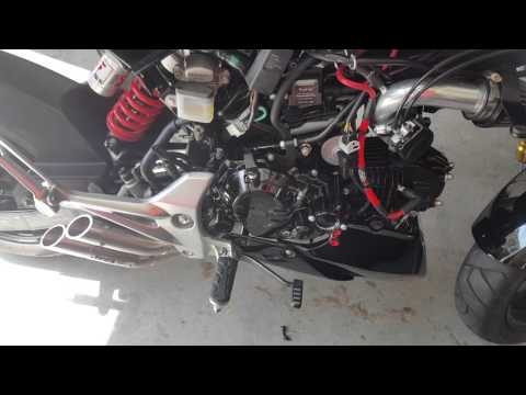 Honda Grom Nology ProFire Ignition with Hotwire - YouTube
