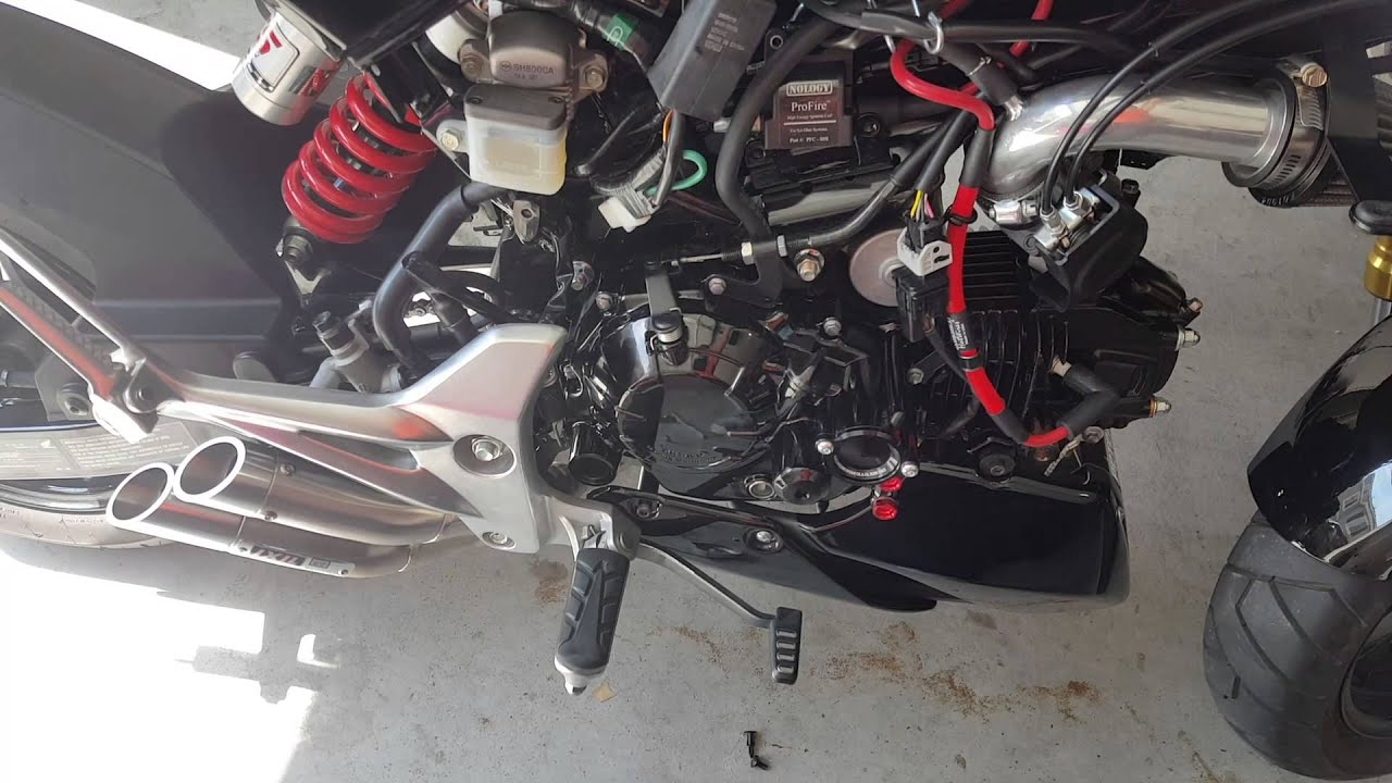 Honda Grom Nology Profire Ignition With Hotwire