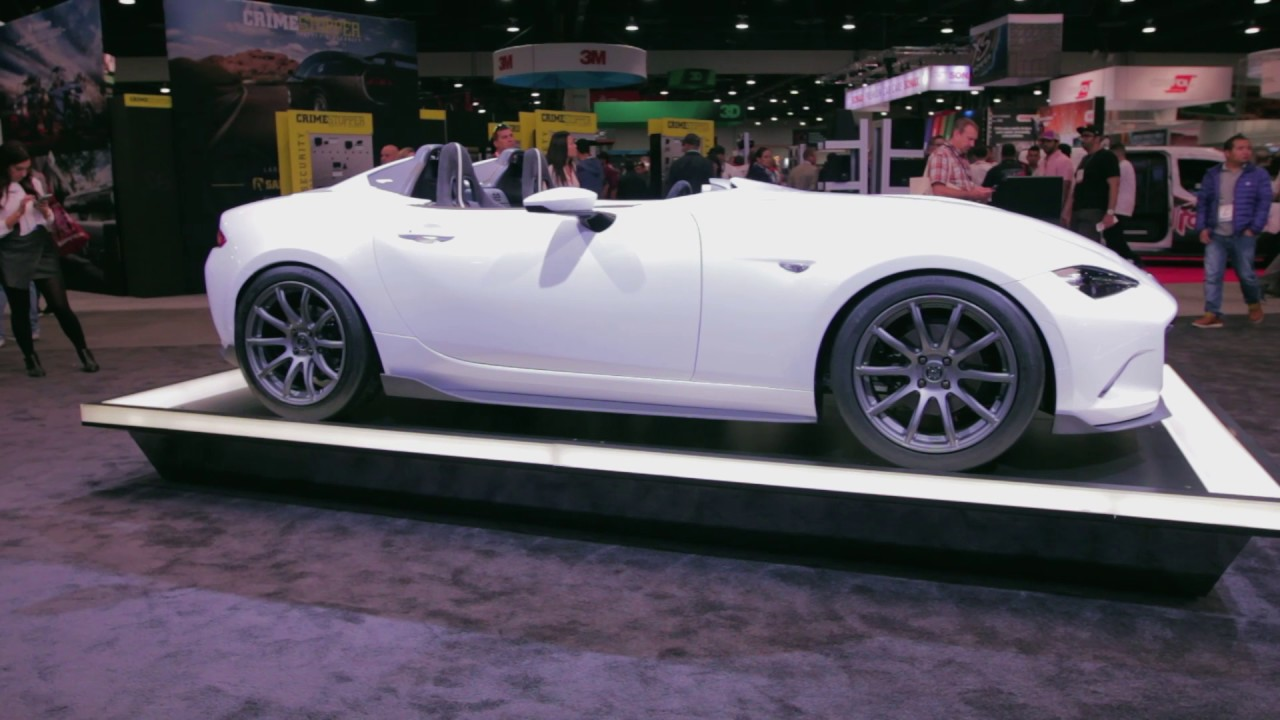 Mazda Concept cars @SEMA2016 MX-5 Speedster Evolution and RF Kuro ...