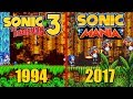 Sonic Mania: Origins of All Zones
