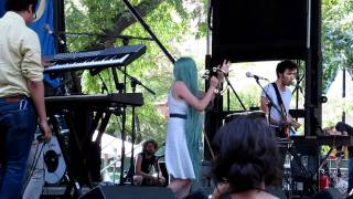 Twin Sister - Meet The Frownies - Live at Pitchfork Music Festival 07/17/2011