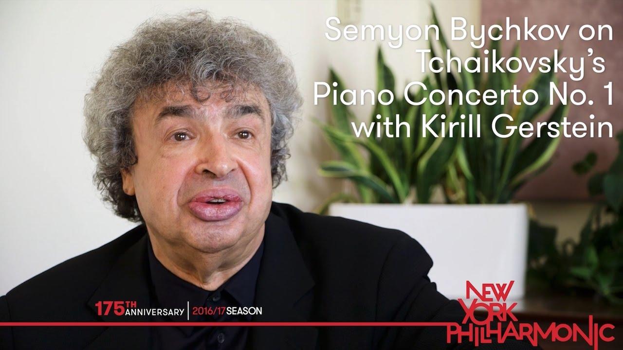 Semyon Bychkov on Tchaikovsky's Piano Concerto No. 1