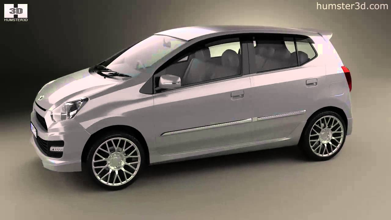 Daihatsu Astra Ayla Sporty 2013 By 3D Model Store
