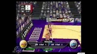 NBA ShootOut 2003 PlayStation 2 Gameplay