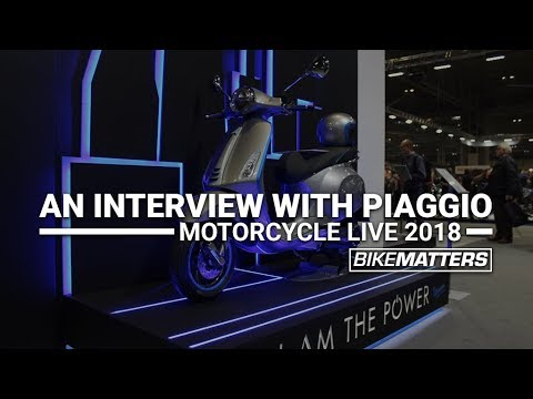Vespa Elettrica + GTS Range! | Motorcycle Live