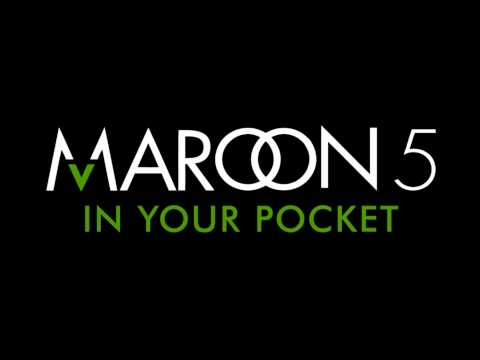 Maroon 5 - In Your Pocket (Audio)