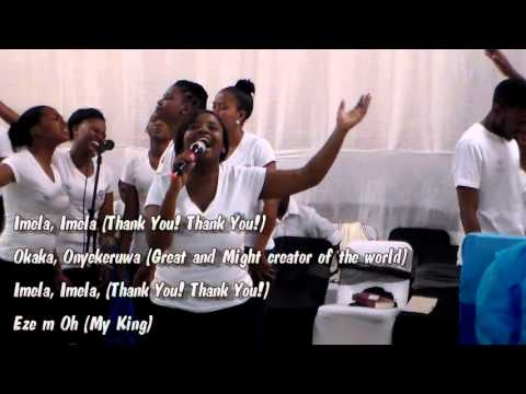 Imela, Imela (Thank You! Thank You!) - SCM Worship team (Lerato Magobe)