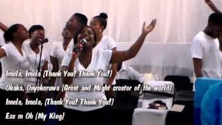 Imela, Imela (Thank You! Thank You!) - SCM Worship team (Lerato Magobe)