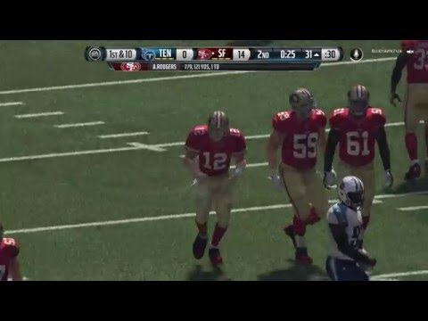 Madden 16 Ranked Draft Champions Gameplay- Jeremy Langford is a Tank Pt. 1
