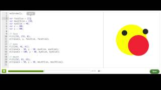 Resizing shapes with variable expressions | Computer Programming | Khan Academy