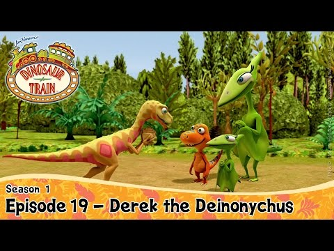 DINOSAUR TRAIN SEASON 1: Season 19 - Derek the Deinonychus