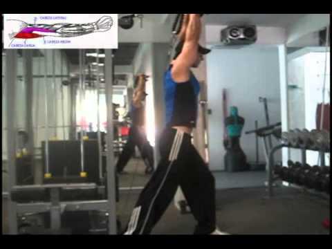 extension de triceps en polea baja