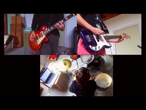 NIRVANA - Smells Like Teen Spirit Cover (Instrumental) drum,guitar,tribute,karaoke,worst,band,neverm