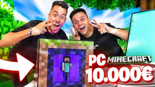 EL PC DE MINECRAFT DE 10.000€ - TheGrefg