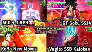 NEW DBZ TTT MOD ISO V3.5 Update BT3 Style With New Kefla Power Up And Attacks DOWNLOAD
