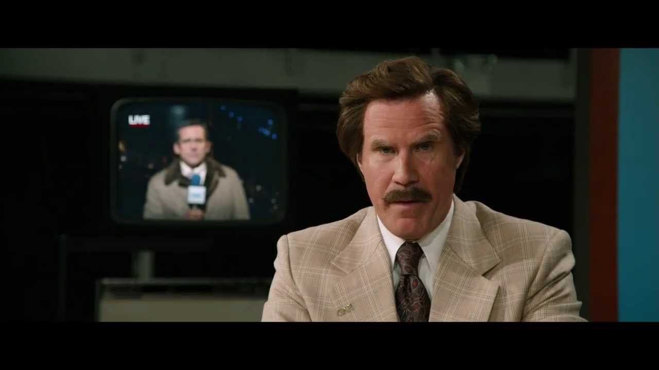 Anchorman 2: The Legend Continues -  Big Leagues Spot