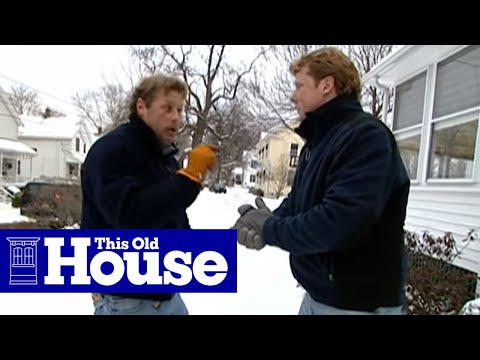 How To Shovel And Salt Packed Snow And Ice | This Old House