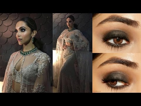 Deepika Padukone IIFA 2018 Smoky Eye Makeup Tutorial
