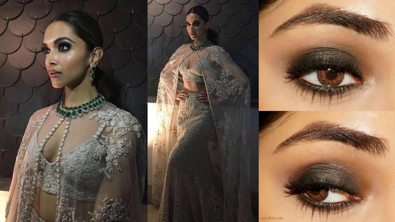 Deepika Padukone IIFA 2016 Smoky Eye Makeup Tutorial ...