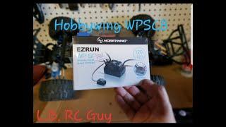 Hobbywing WP-SC8 Monster Slash Install
