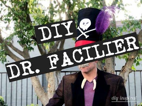 DIY Dr  Facilier Halloween Costume | DIY Cardboard Top Hat